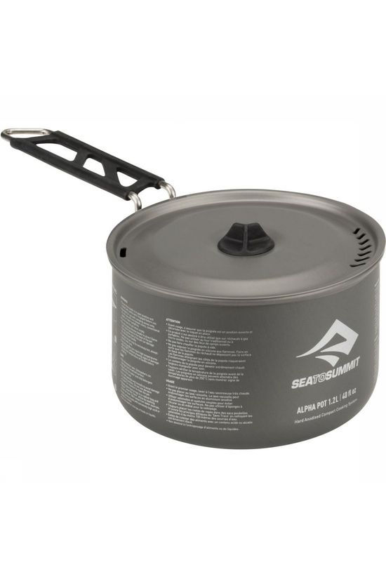 Sea To Summit Pan Alphapot 1.2L Zilver