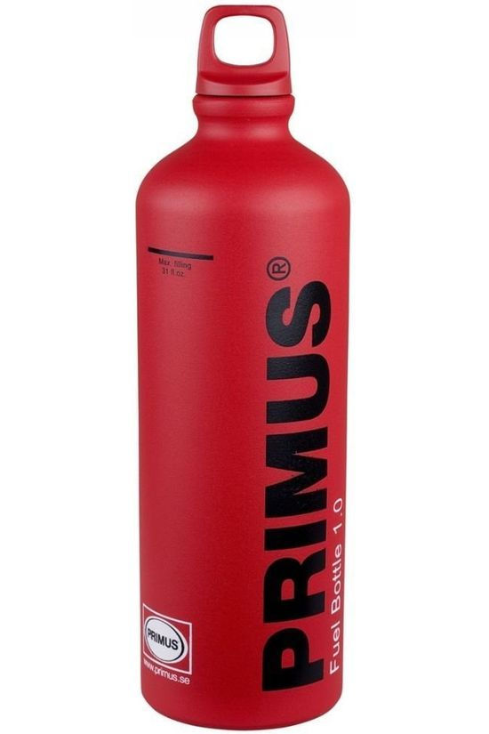 Primus Brander Acc Fuel Bottle 1.0L Rood