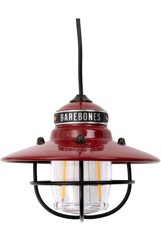 Barebones Living Eclairage Edison String Lights 3 Pack Rouge