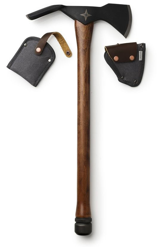 Barebones Living Miscellaneous Pulaski Axe/Bijl black/dark brown