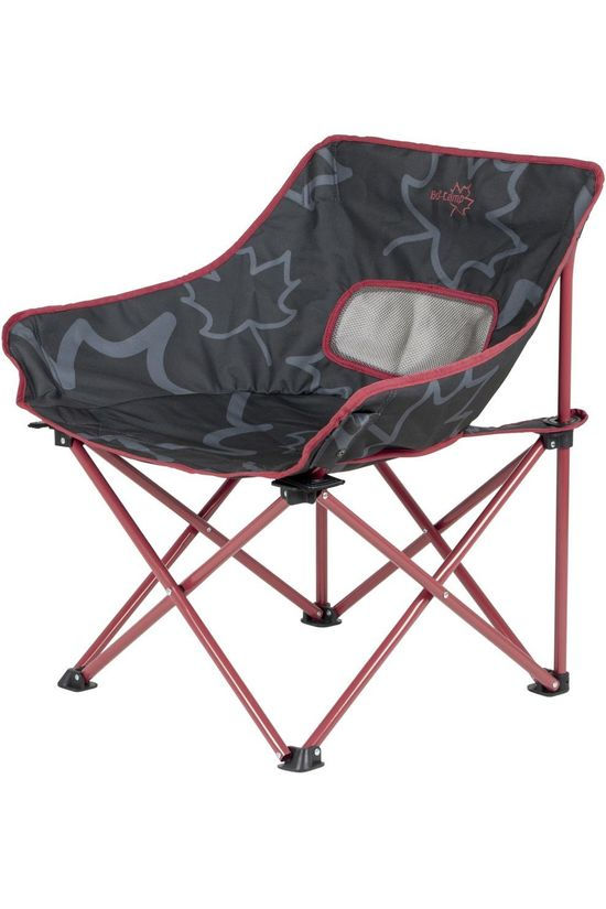 Bo-Camp Chair Leevz Vouwstoel Pine dark grey/red