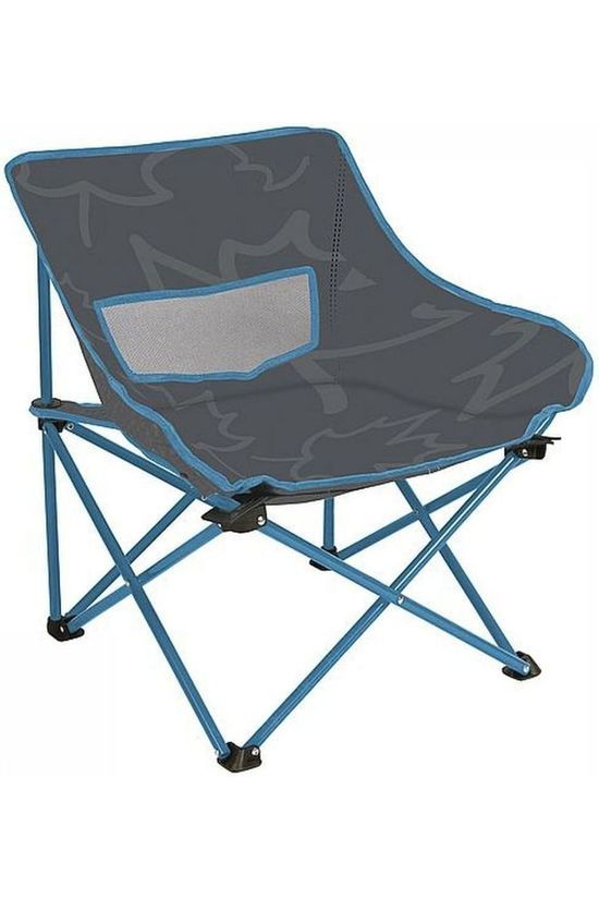Bo-Camp Chair Leevz Vouwstoel Pine dark grey/mid blue