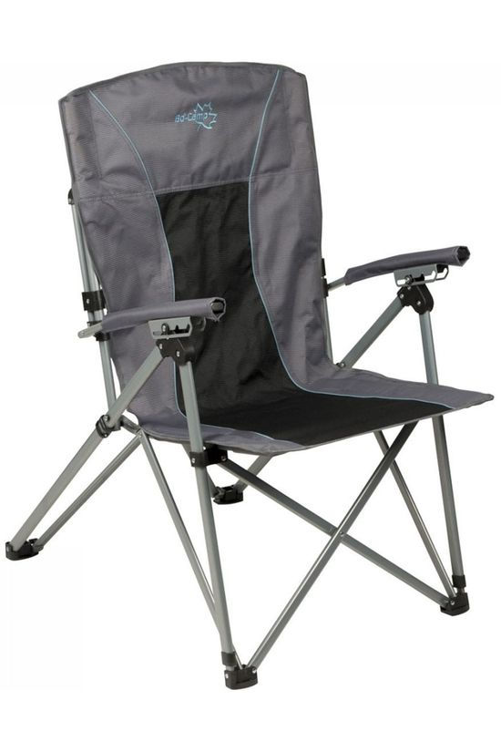 Bo-Camp Chaise Deluxe King Plus 4-Standen Gris Foncé