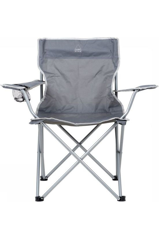 Camp Gear Chair Stoel Opvouwbaar Compact light grey
