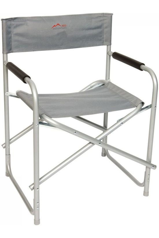 Red Mountain Chair Regisseursstoel Staal light grey
