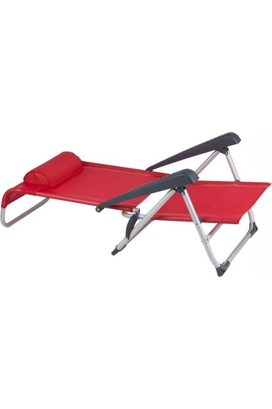 Red Mountain Relax Chair Deluxe Saint-Tropez red