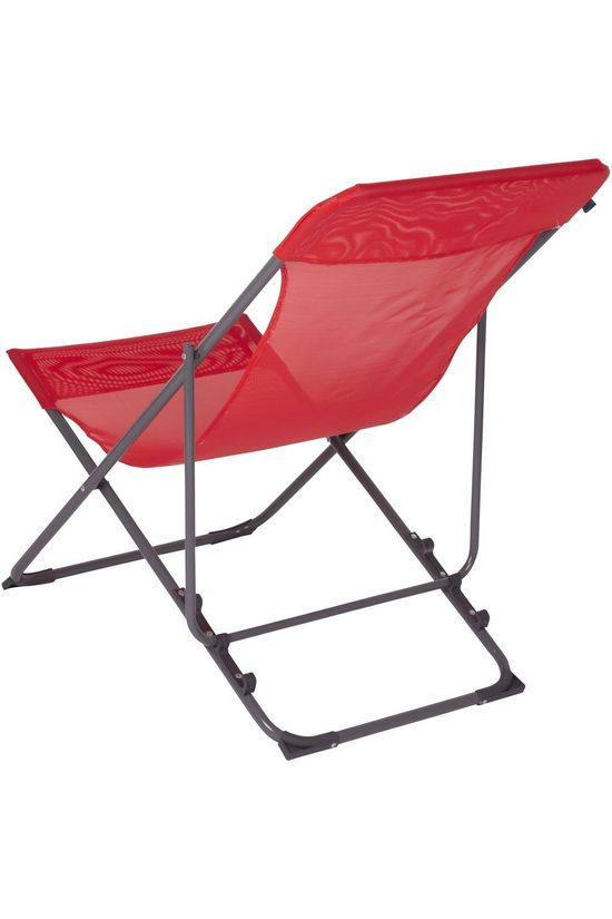 Bo-Camp Fauteuil Beach Chair Flat 3 Standen Rouge