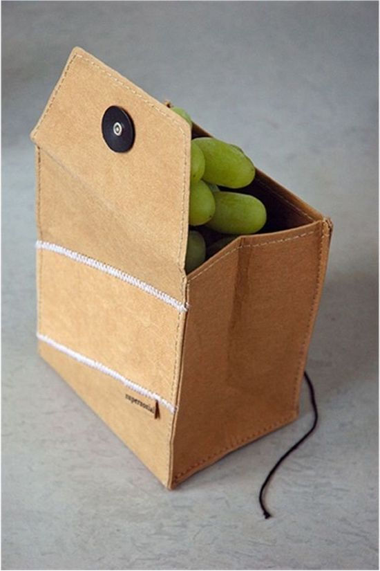 Zuperzozial Fruit Bag brown