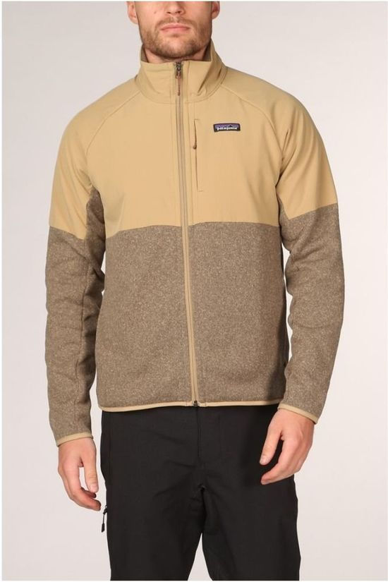 Patagonia Fleece Lightweight Shelled Bs Sand Brown