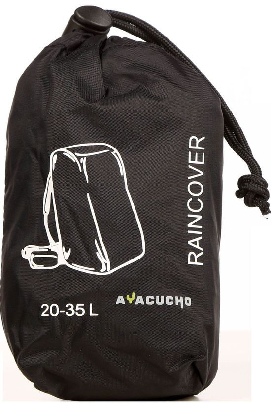 Ayacucho Rain Cover 20 - 35 L black