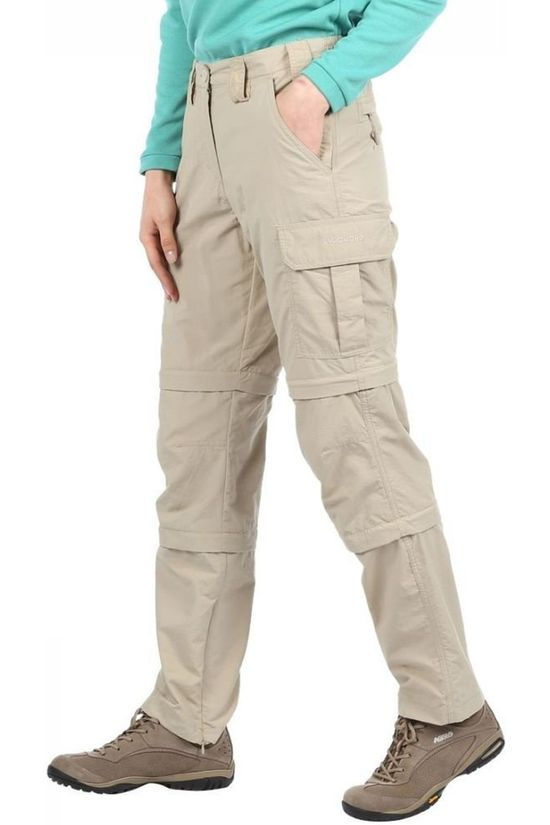 Ayacucho Trousers Naryn II Double Zip-Off Sand Brown
