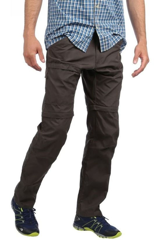 Fjällräven Pantalon High Coast Zip-Off Gris Foncé