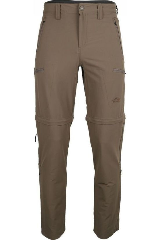 The North Face Trousers Exploration Conv mid brown
