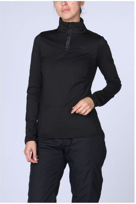 Protest Fleece Fabrizoy black