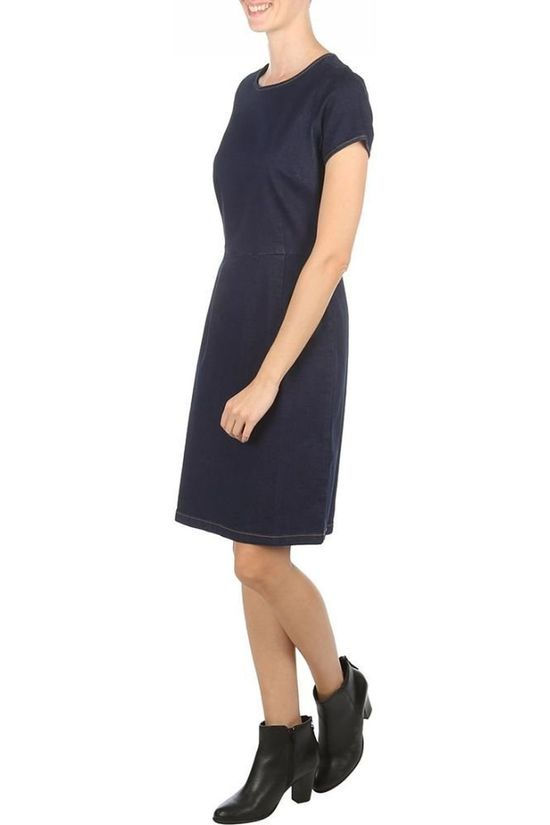 King Louie Dress Mod Denim Dark Blue (Jeans)