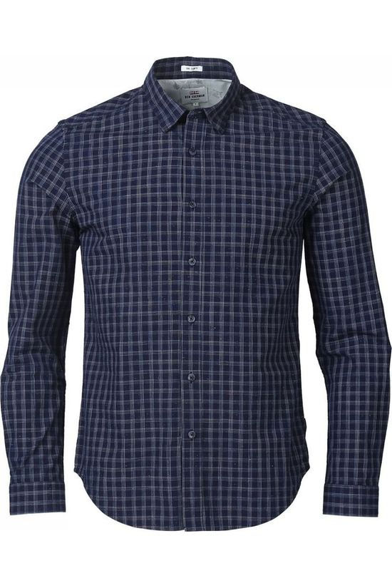 Ben Sherman Shirt 1802-Sh0050787 Dark Blue/Ass. Geometric