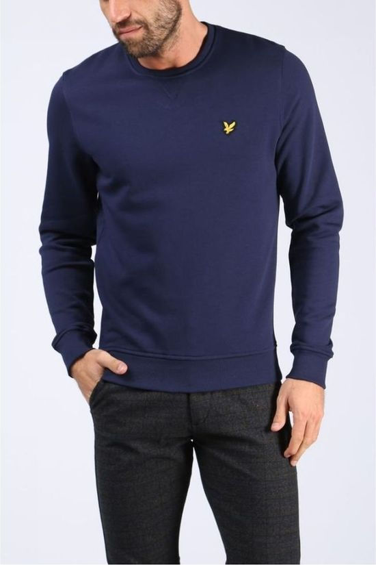 Lyle & Scott Trui 1802-Ml424Vb Donkerblauw