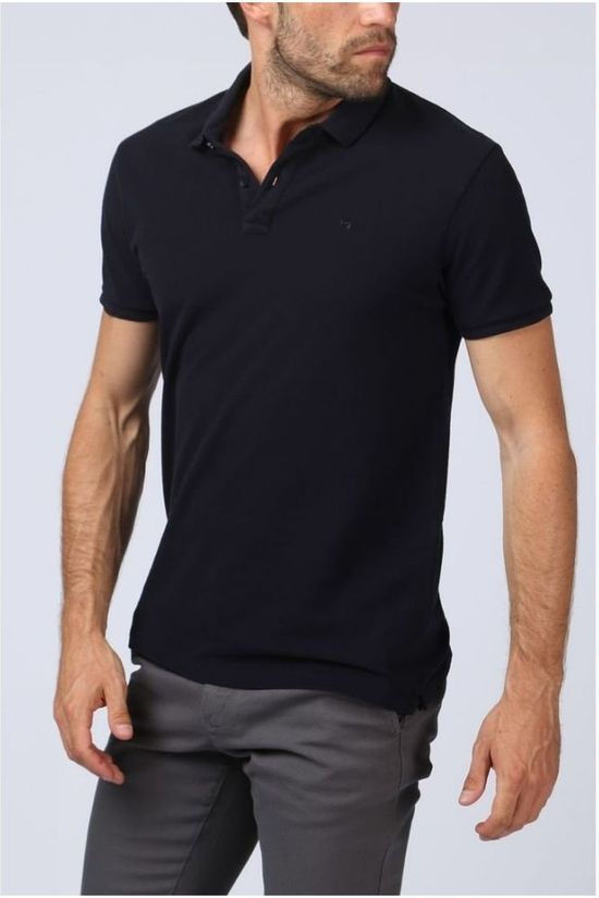 Scotch & Soda Polo 124893 Donkerblauw