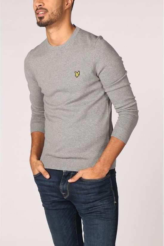 Lyle & Scott Pullover 1802-Kn400Vc Light Grey Marle