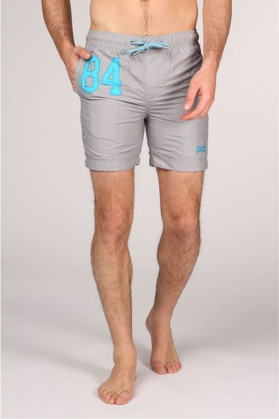 Superdry Zwemshort Water Polo Lichtgrijs Mengeling
