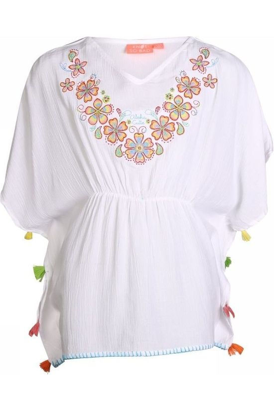 Knot so bad Dress Embroidery white