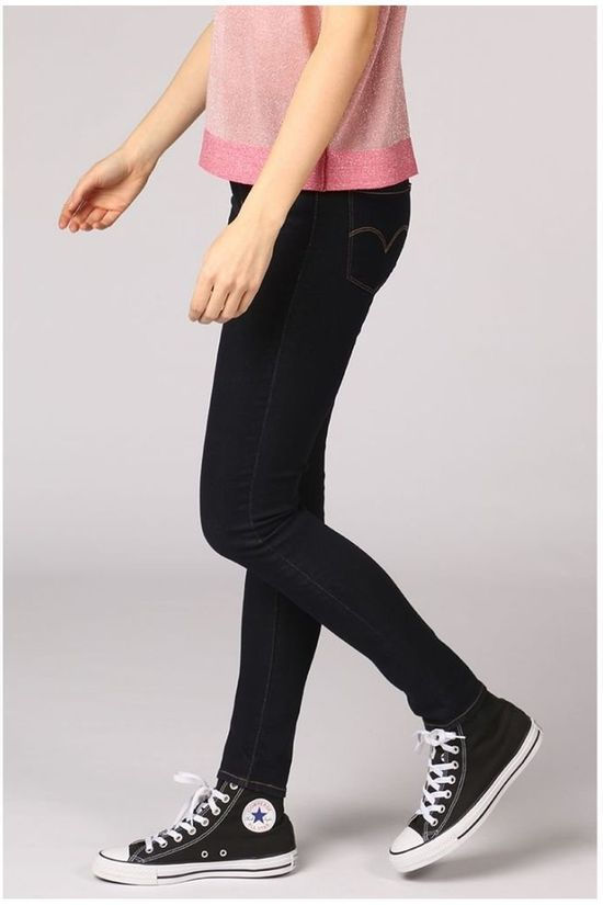 Levi's Jeans 721 High Rise Skinny Donkerblauw (Jeans)
