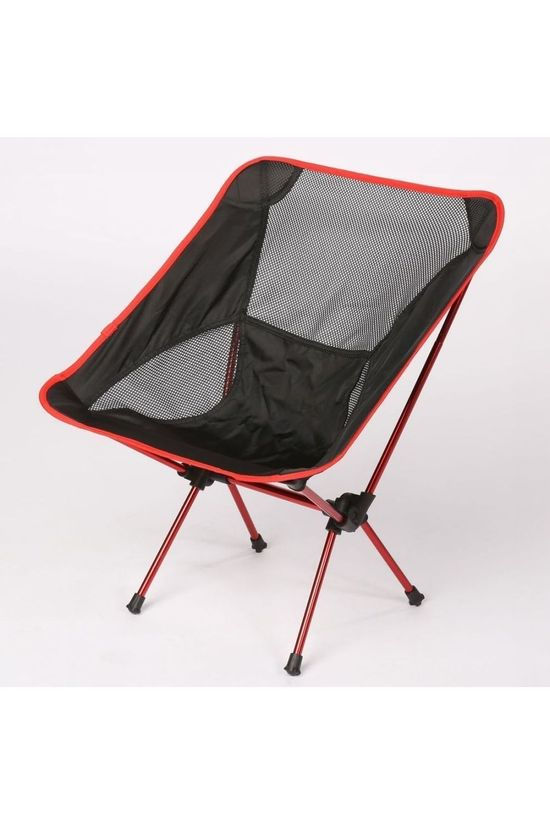 Transfilco Travel Folding Chair St Tropez black/red