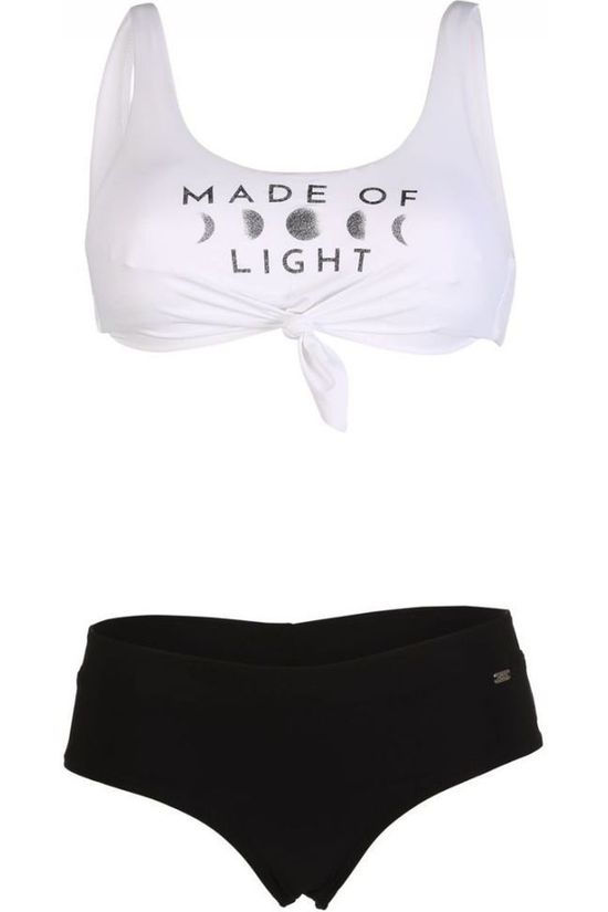 Banana Moon Bikini Nouo Moonlight+Bia Beachbabe white/black