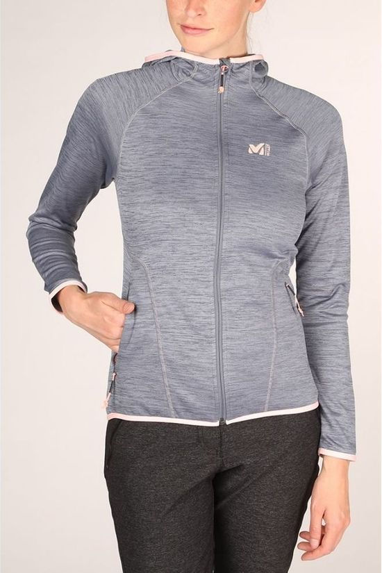 Millet Fleece Tweedy Mountain Middengrijs