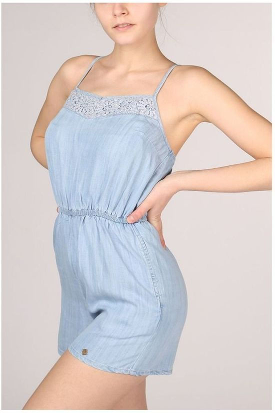 Superdry Jumpsuit Tess Lichtblauw (Jeans)