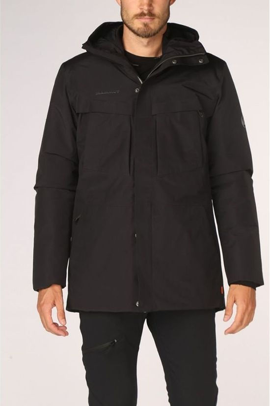 Mammut Manteau Chamuera HS Thermo Hooded Noir