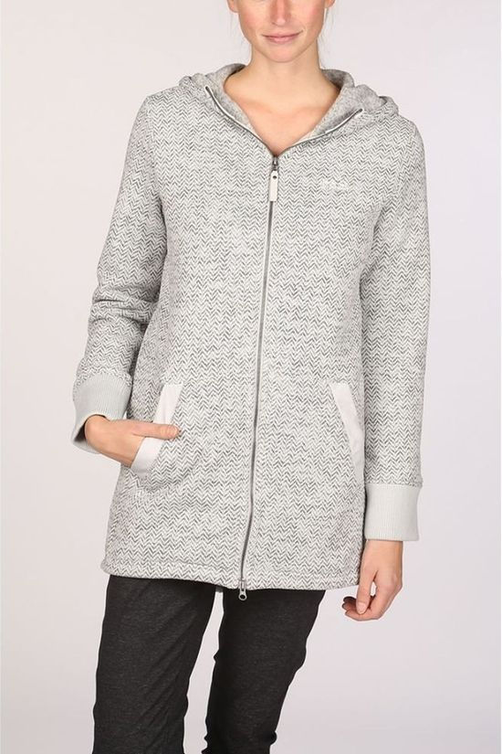 Jack Wolfskin Fleece Patan Long Light Grey Marle