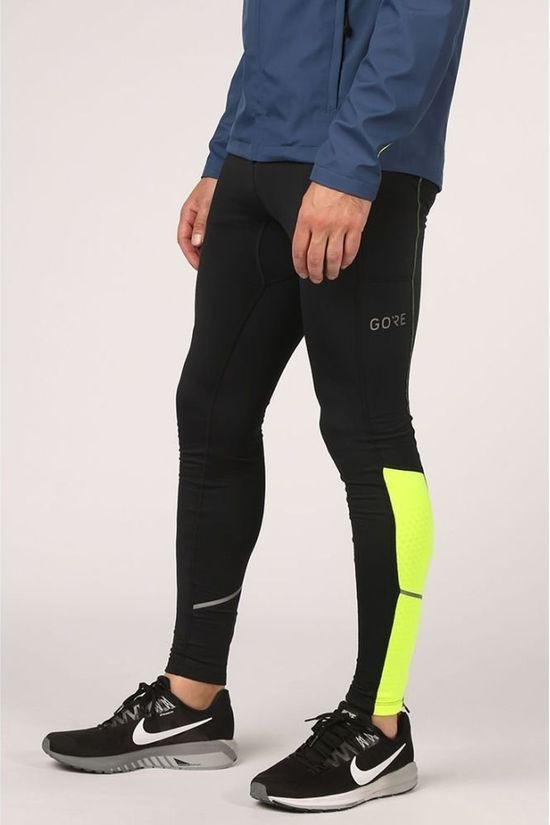 Gore Wear Tights R3 Thermo black/yellow