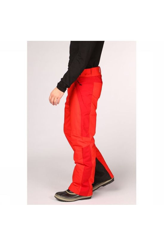 Peak Performance Pantalon De Ski Maroon Race Rouge