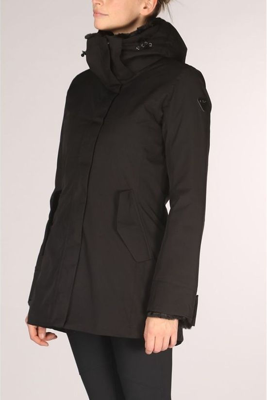 CMP Coat Wmn Parka Padded High Loft black