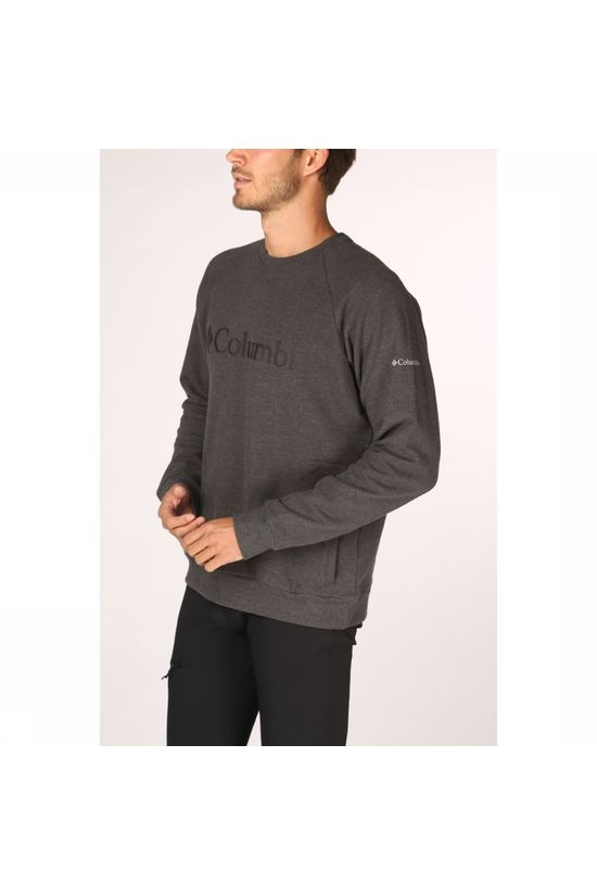 Columbia Pullover Columbia Lodge Crew dark grey