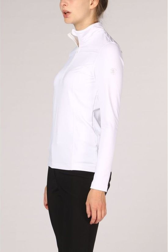 Poivre Blanc Fleece Base Layer white
