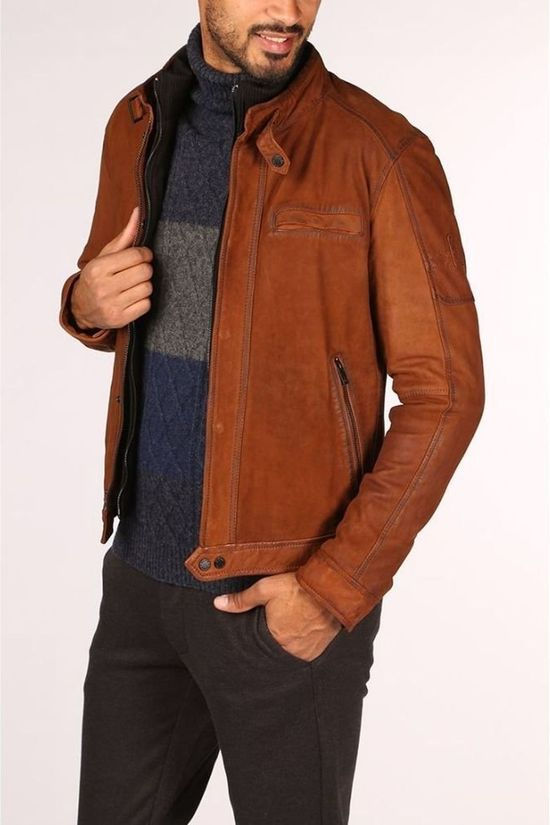 Oakwood Manteau 62986 Marron Chameau