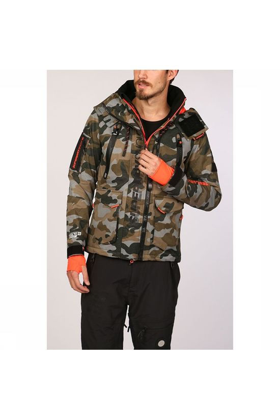 Superdry Coat Ultimate Snow Rescue Ass. Camouflage