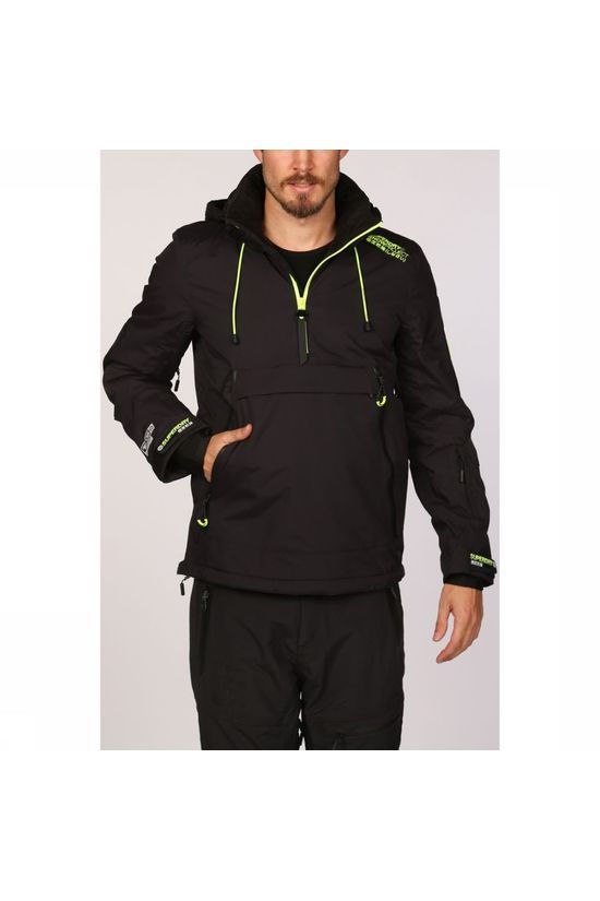 Superdry Coat Sd Mountain Overhead Jacket black