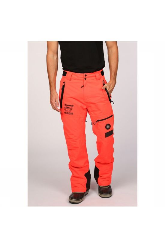Superdry Pantalon De Ski Sd Pro Racer Rescue Pant Orange