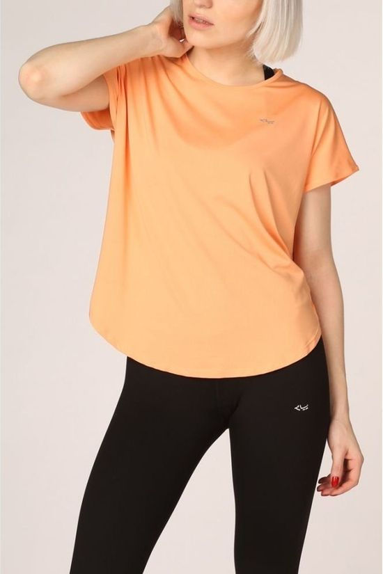 Röhnisch T-Shirt Leo Loose orange