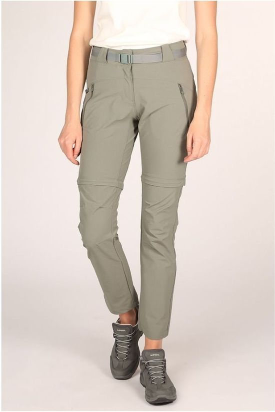 Eider Trousers Flex Zip-Off dark green
