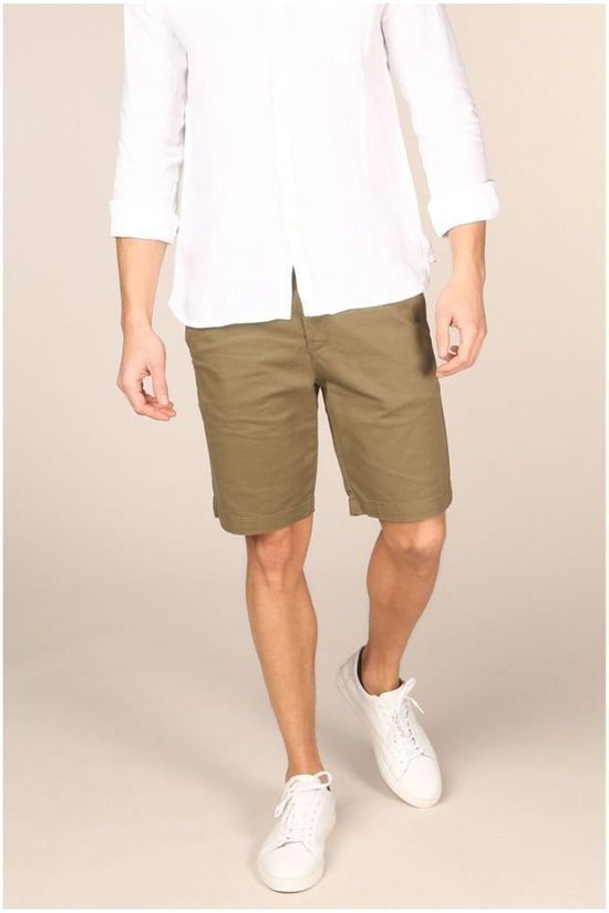 Lyle & Scott Short 2001-Sh800 Donkerkaki