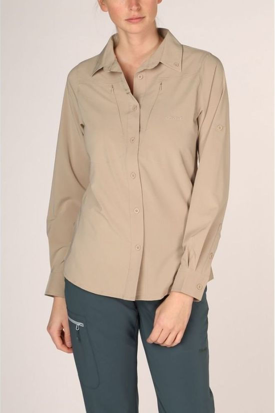 Ayacucho Blouse Equator II Stretch Am Brun Sable