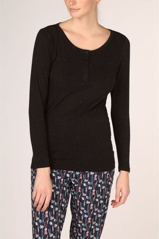 Ayacucho T-Shirt Dragonfly Ls Neppy Am black