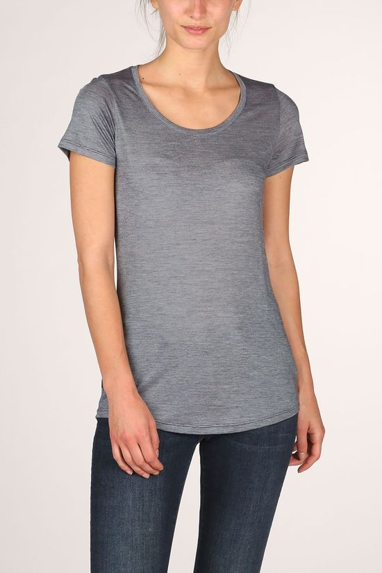 Icebreaker T-Shirt Sphere SS Scoop mid grey