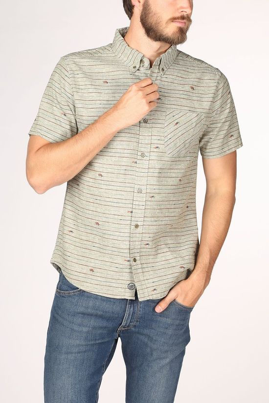United by Blue Shirt Allday Chambray Taupe