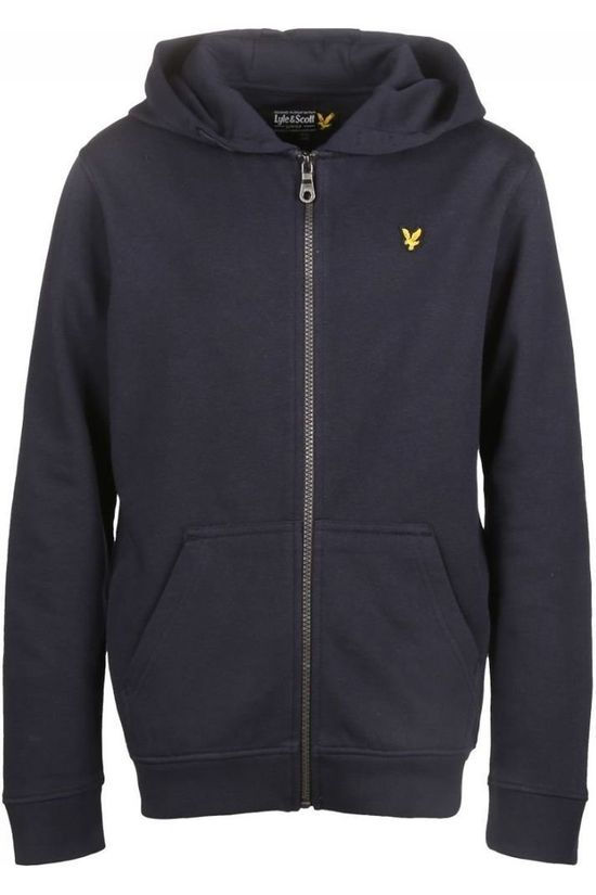 Lyle & Scott Pullover Zipper Navy Blazer dark blue