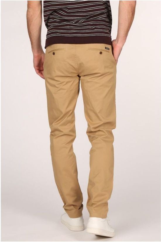 Scotch & Soda Pantalon Stuart Brun Sable